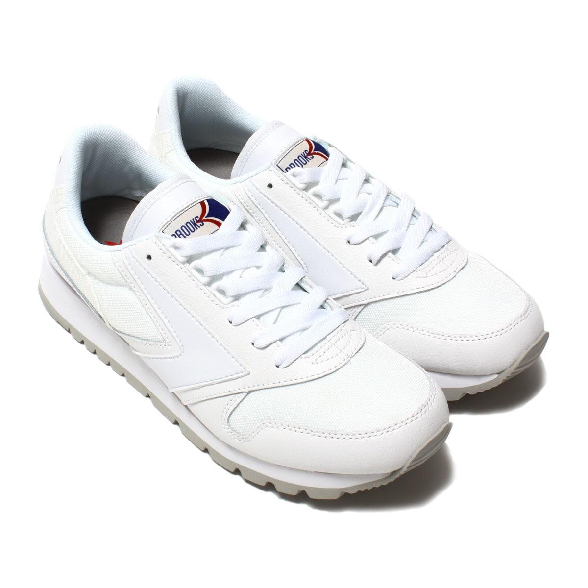 BROOKS CHARIOT(ブルックス チャリオット)WHITE【メンズ レディース スニーカー】17SP-I