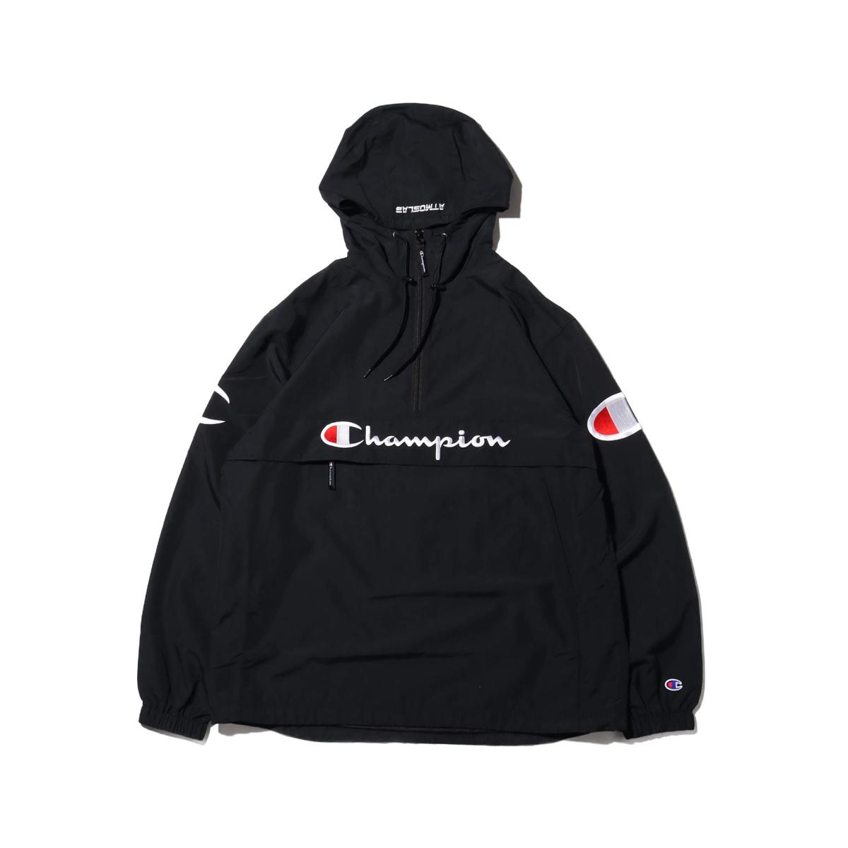 Champion × ATMOS LAB ANORAK (チャンピオン × アトモスラボ アノラック)ブラック【メンズ パンツ】19SP-S