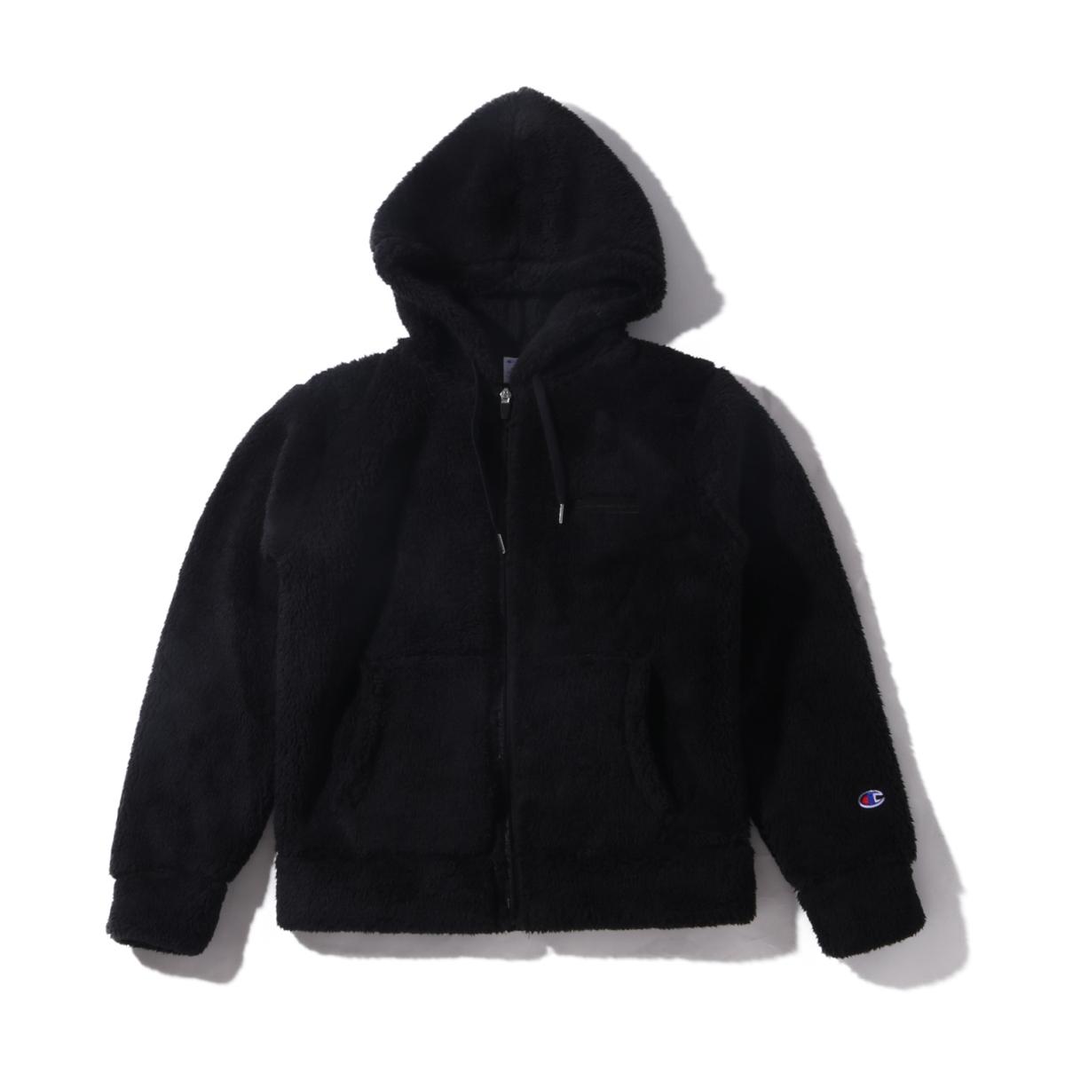 Champion ZIP HOODED JACKET(チャンピオン ジップ フーデッド ジャケット)ブラック【メンズ ジャケット】19FA-I
