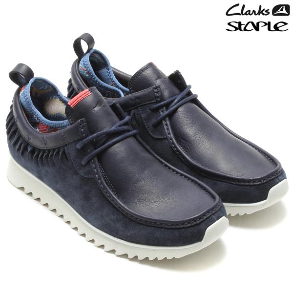 Clarks sportswear×STAPLE TAWYER TWIST(クラークス スポーツウェア×ステイプル トウヤー ツイスト)NAVY SUEDE14SS-S