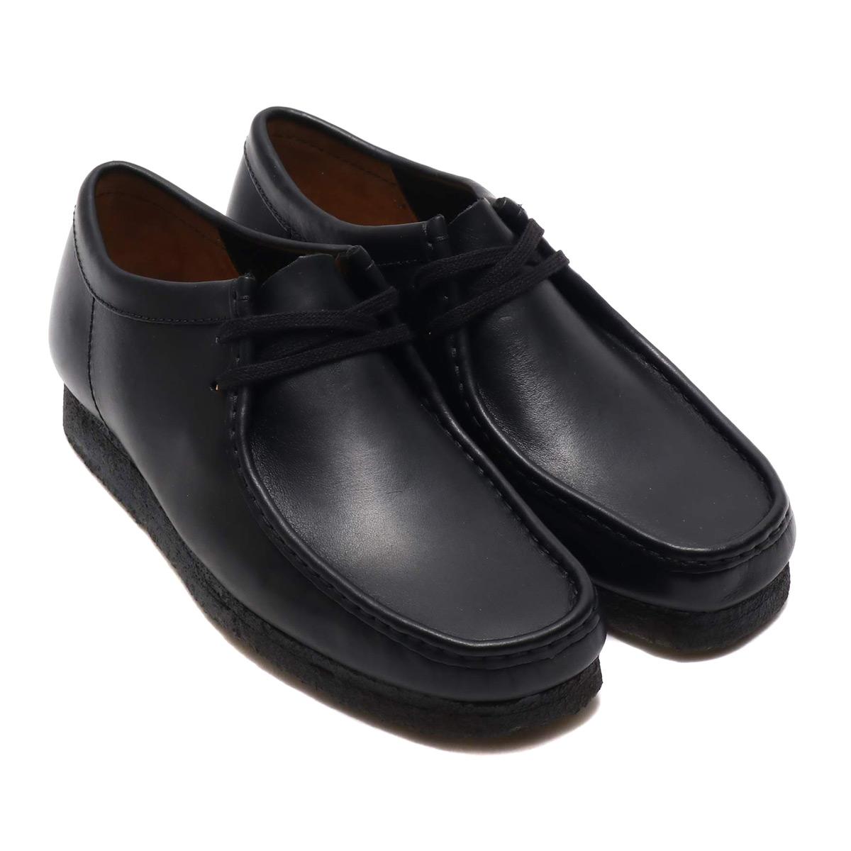 Clarks Wallabee (クラークス ワラビー)Black Leather【メンズ ブーツ】18FW-I