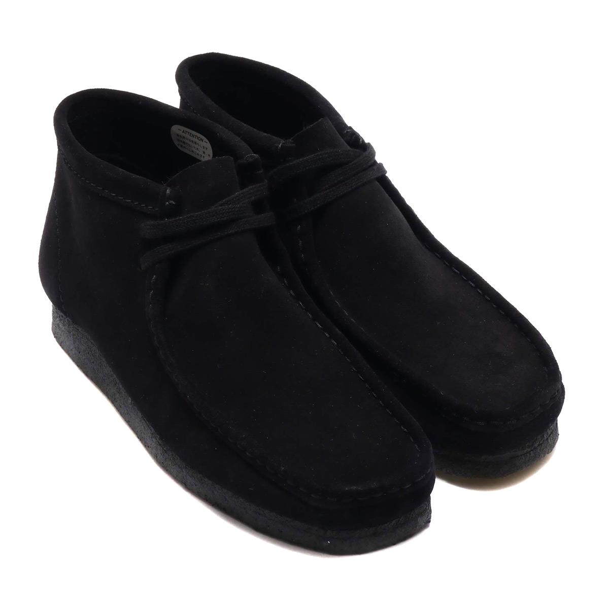 Clarks Wallabee Boot (クラークス ワラビー ブーツ)Black Suede【メンズ ブーツ】18FW-I