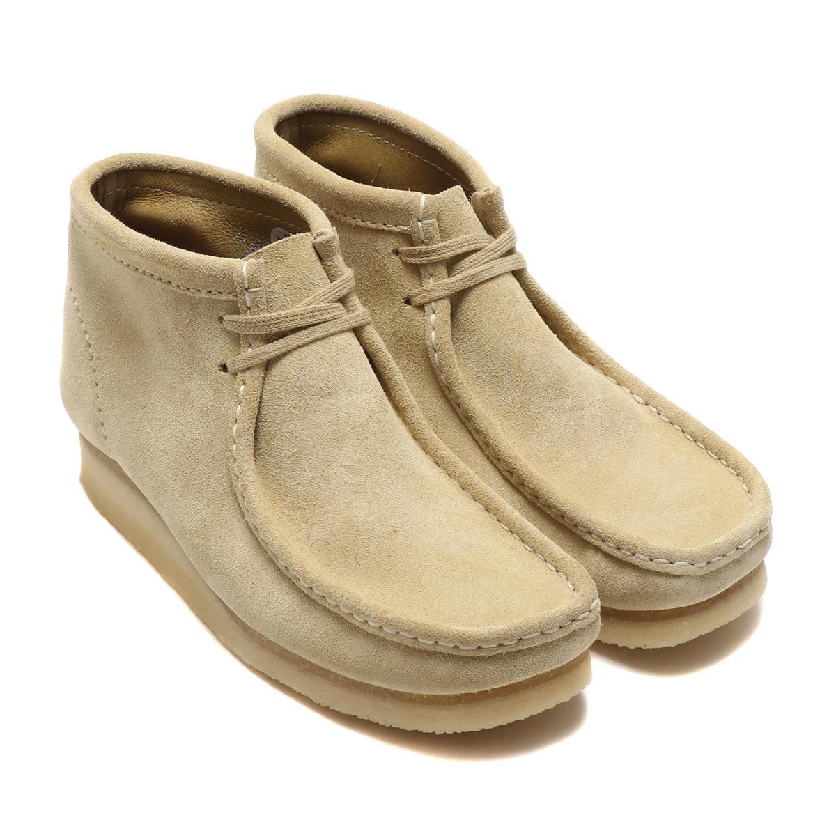 Clarks WALLABEE BOOT(クラークス ワラビーブーツ)MAPLE SUEDE【レディース ブーツ】19FA-I
