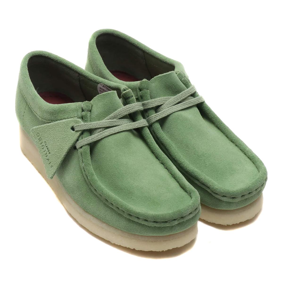 Clarks Wallabee (クラークス ワラビー)Cactus Green【レディース スニーカー】19SP-I