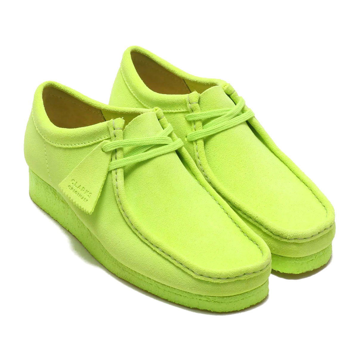 Clarks Wallabee(クラークス ワラビー)Lime Suede【メンズ ブーツ】20SP-I