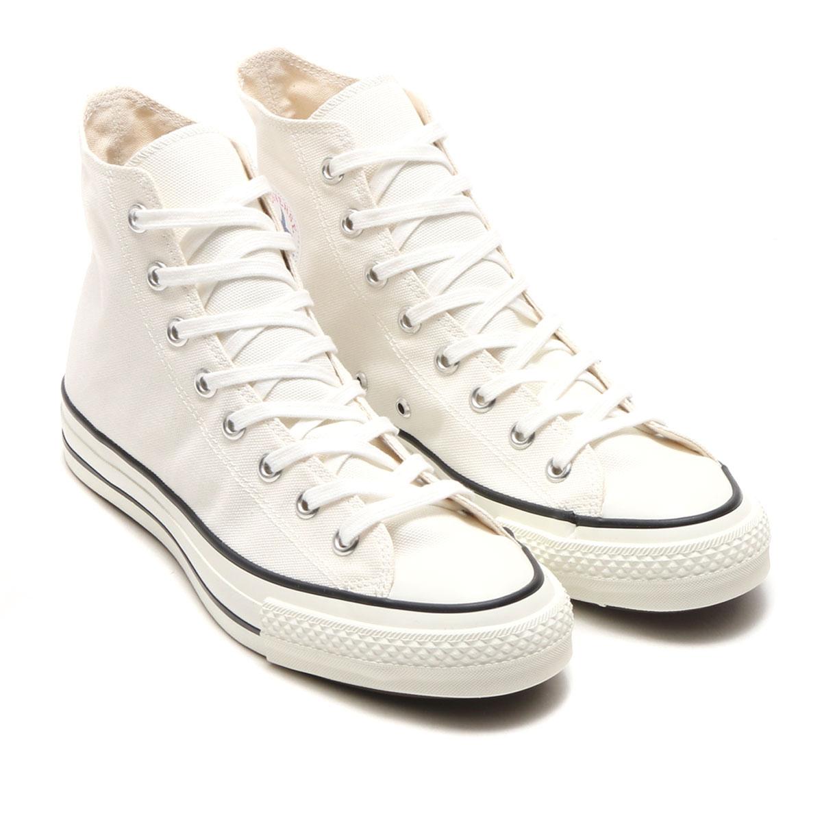 CONVERSE ALL STAR J HI(コンバース オールスター J ハイ)WHITE【メンズ レディース スニーカー】17FW-I