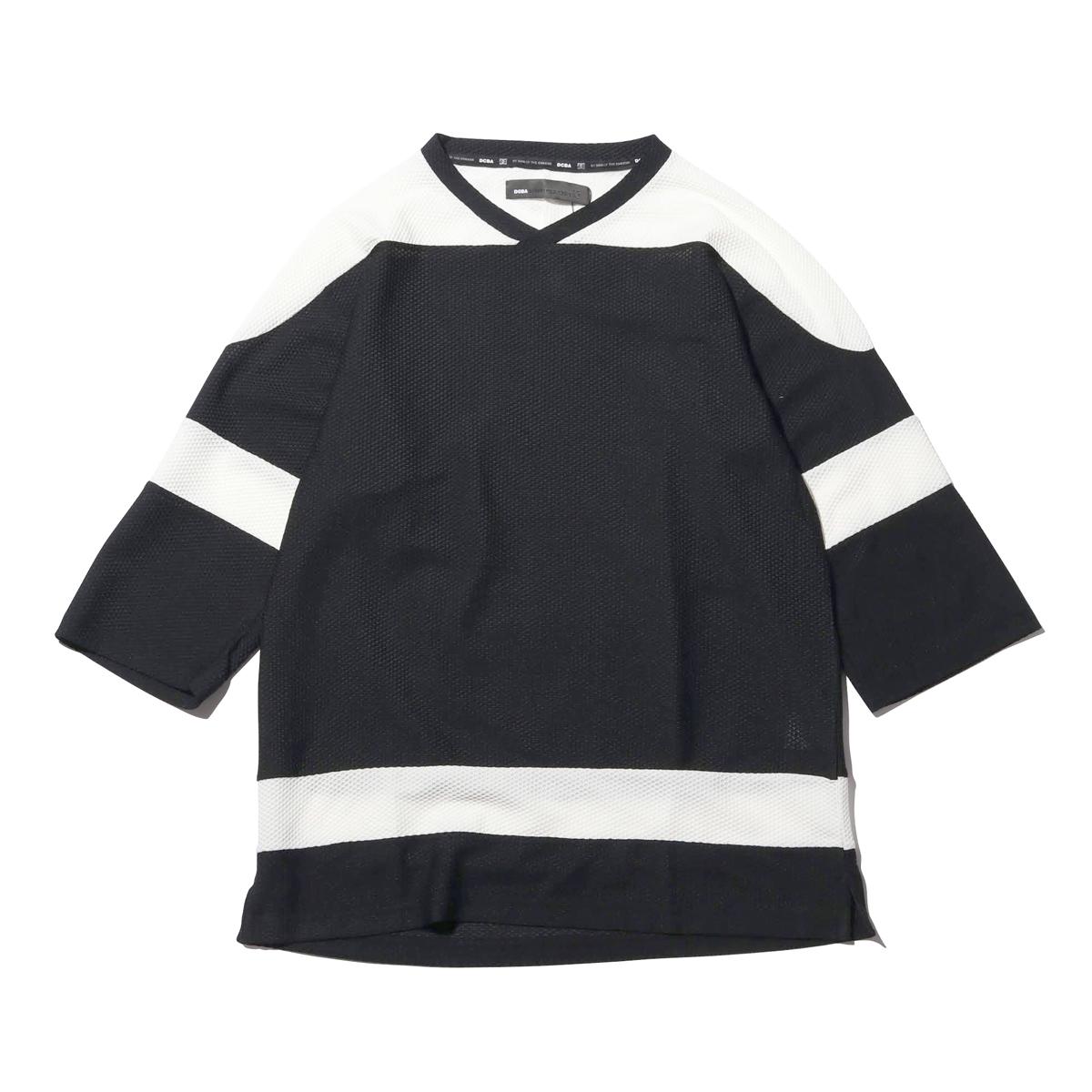 DC SHOES DCBA 19 HOCKEY SS (ディーシーシューズ DCBA 19 ホッケー SS)BLACK【メンズ Tシャツ】19SS-I
