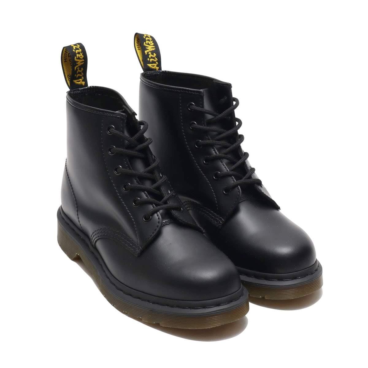Dr.Martens 101 6EYE BOOT (ドクターマーチン 101 6アイ ブーツ)BLACK【メンズ レディース ブーツ】19SS-I