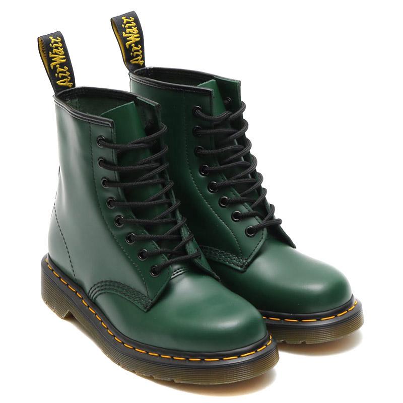 Dr.Martens 1460 8EYEBOOT(ドクターマーチン 1460 8アイ ブーツ)GREEN【メンズ レディース ブーツ】16AW-I