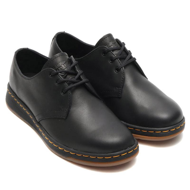 Dr.Martens CAVENDISH 3EYE SHOE(ドクターマーチン キャベンディッシュ 3アイ シューズ)BLACK【メンズ レディース 革靴】19SS-I