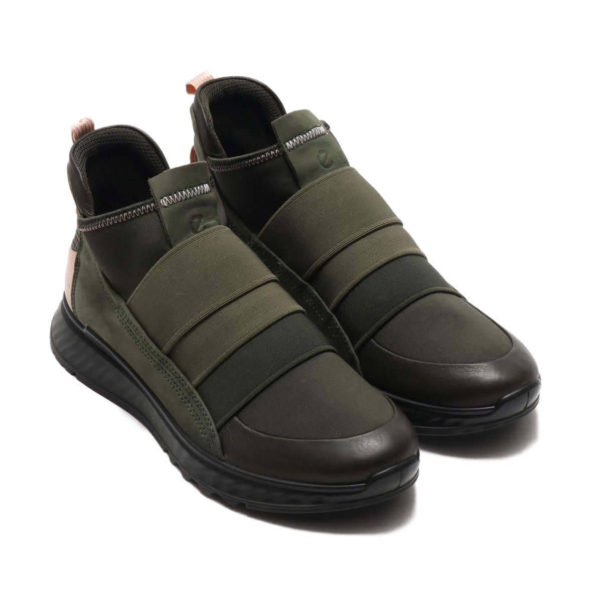 ECCO ST.1 W(エコー エスティー 1 W)DEEP FOREST/DEEP FOREST/ROSE DUST【レディース スニーカー】20SP-I