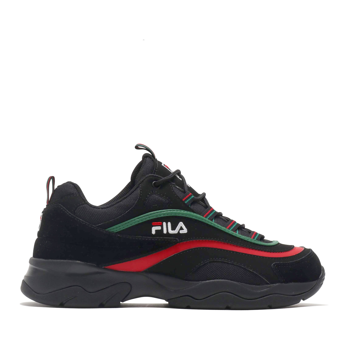 fila green and red