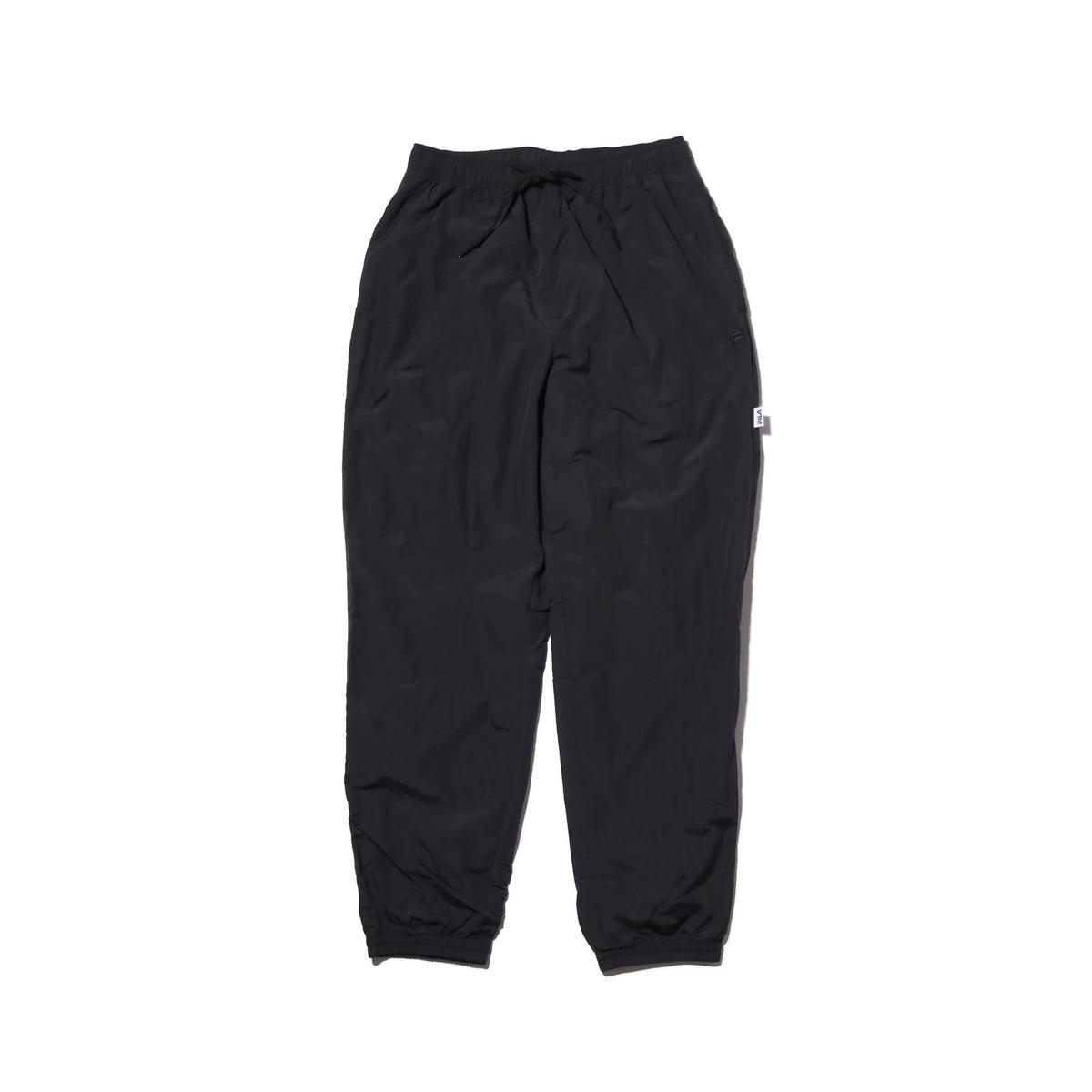 FILA Easy long pants (フィラ イージー ロング パンツ)BLACK【メンズ パンツ】18FW-I