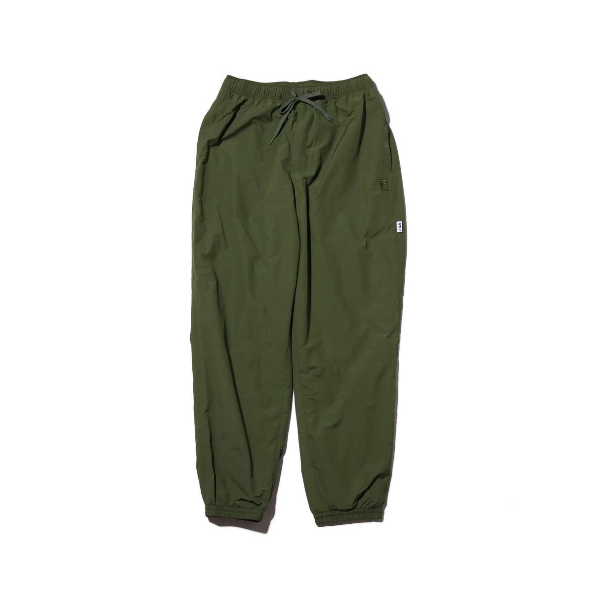 FILA Easy long pants (フィラ イージー ロング パンツ)KHAKI【メンズ パンツ】18FW-I