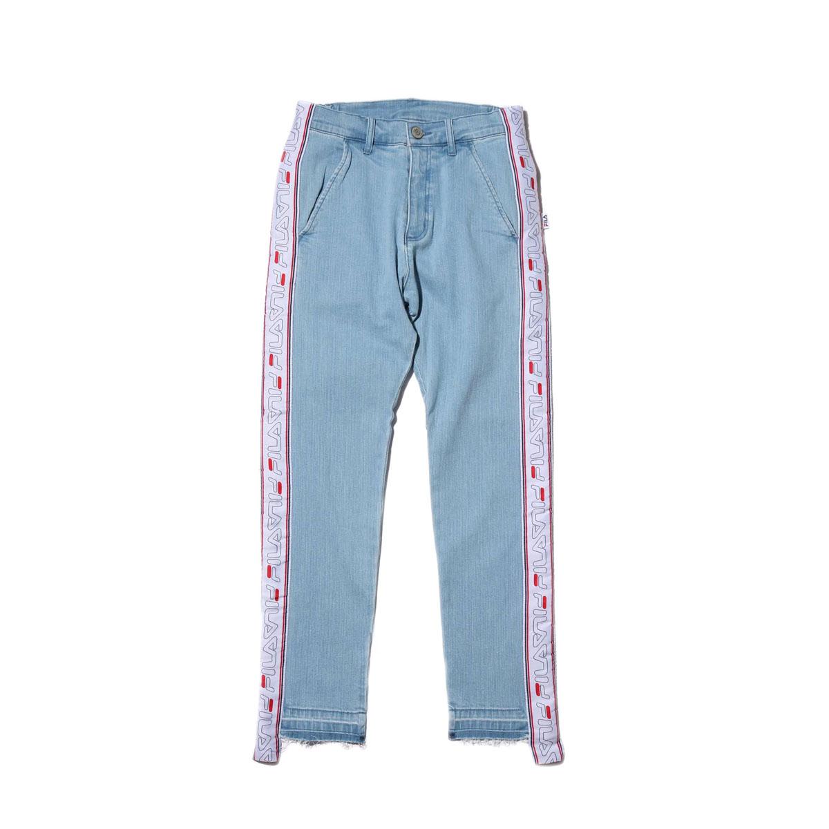 FILA Skinny pants (フィラ スキニ― デニム パンツ)BLUE【メンズ パンツ】18FW-I