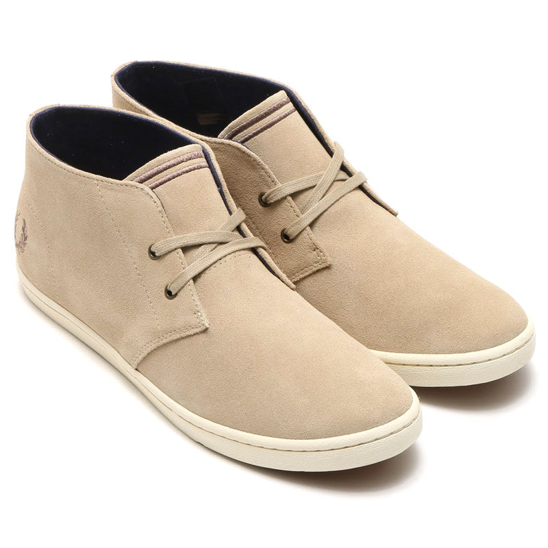 Fred Perry Byron Mid Suede nWKxyd