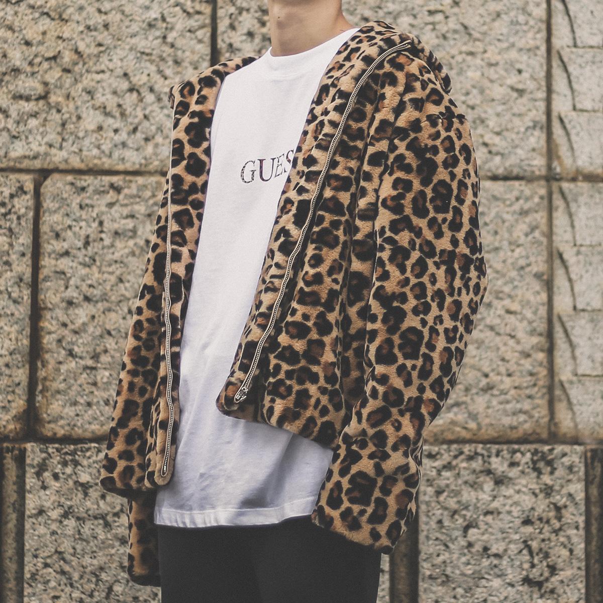 GUESS Fake Fur Jacket (ゲス フェイク ファー ジャケット)LEO【メンズ レディース ジャケット】18HO-S