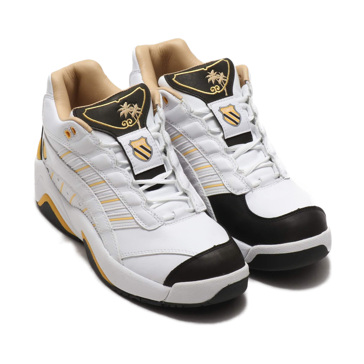 K・SWISS SI-DEFIER LUX (ケースイス SI-ディファイアーLUX)WHITE/BLACK/INK【メンズ レディース スニーカー】19SS-I