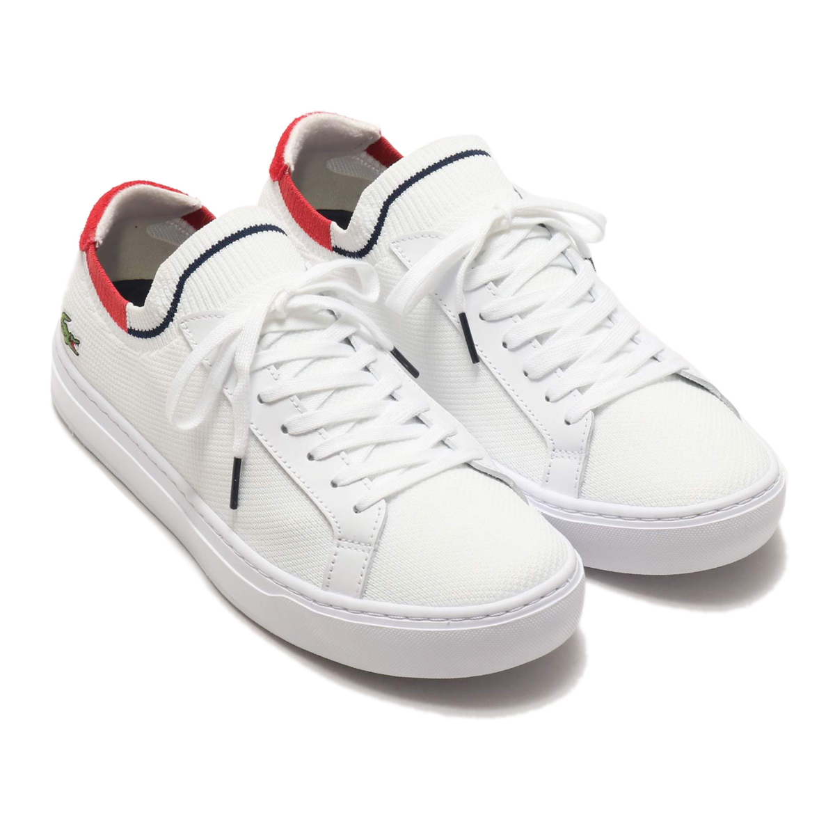 LACOSTE LA PIQUEE 120 1(ラコステ ラピケ 120 1)WHT/RED/NVY【メンズ スニーカー】20SP-I