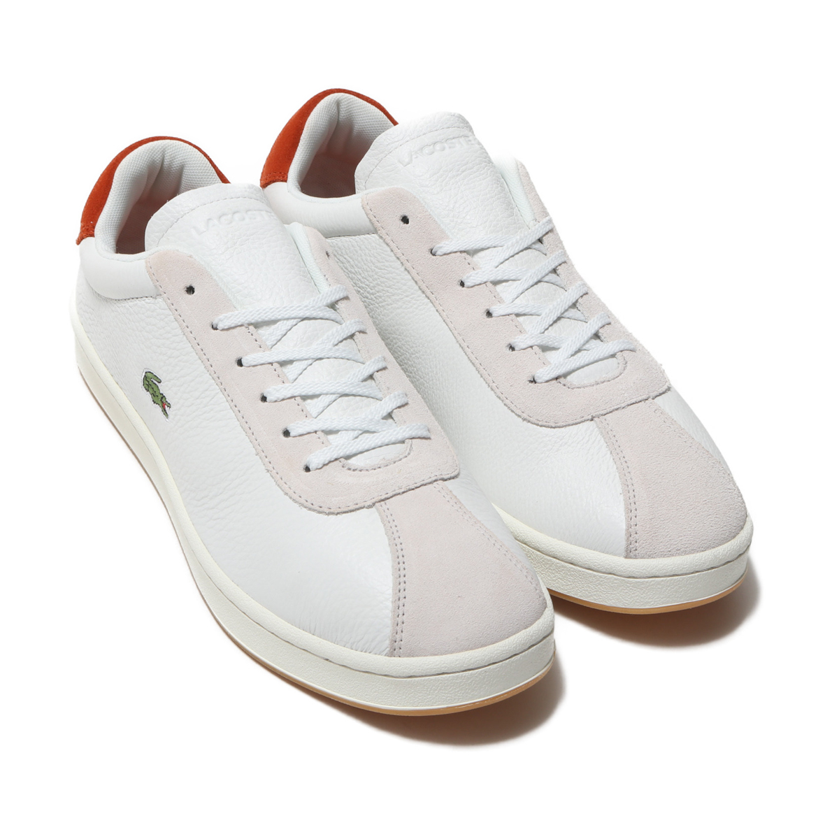 LACOSTE MASTERS 119 3 (ラコステ マスターズ 119 2)OFF WHT/RED【メンズ スニーカー】19SP-I