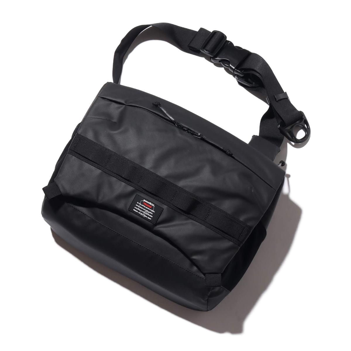 【エントリーで全品10倍】MAKAVELIC RAISE SHOULDER BAG(マキャベリック レイズ ショルダーバッグ)BLACK【メンズ ショルダーバッグ】19FA-I