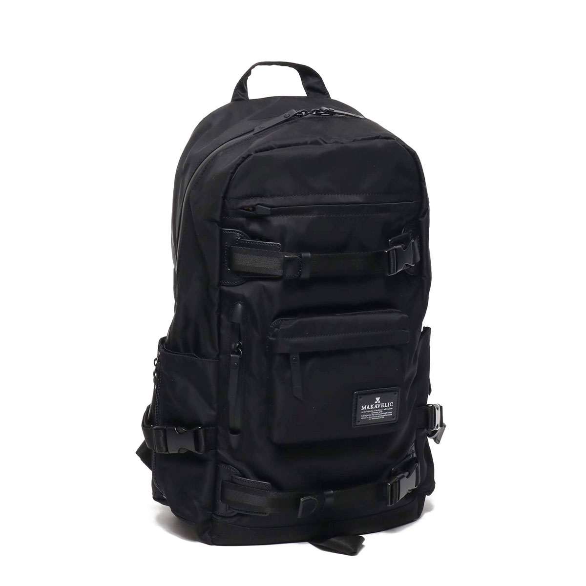 MAKAVELIC SIERRA SUPERIORITY BIND UP 2 BACKPACK(マキャべリック シエラ スーパーアイオリティ バインドアップ 2 バックパック)BLACK【メンズ バックパック】20SP-I
