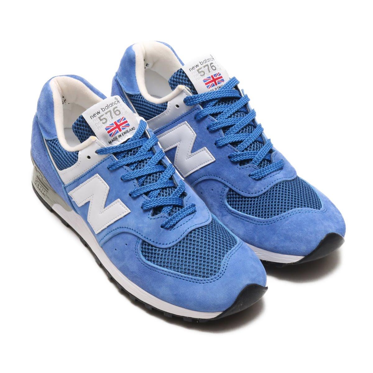 89969688e285e Balance New M576BBB(ニューバランス スニーカー】18SP-I M576BBB)BLUE/WHITE【メンズ-スニーカー