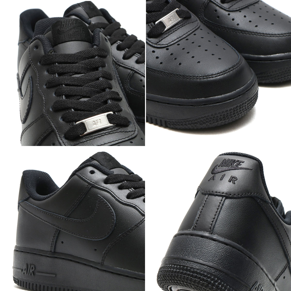 separation shoes 405d7 47d81 ... NIKE AIR FORCE 1   07 (Nike Air Force 1   07) BLACK  ...
