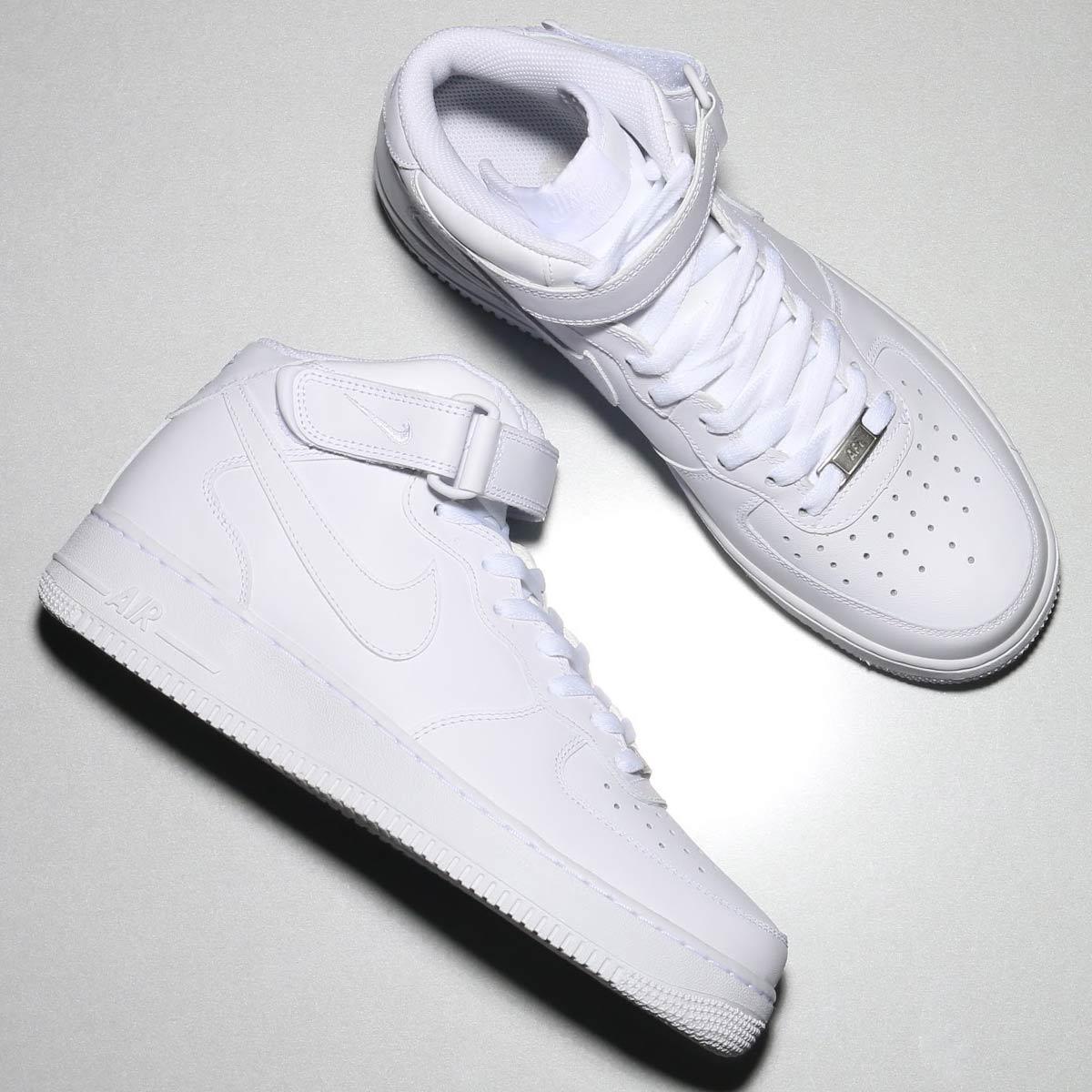 NIKE AIR FORCE 1 MID  07 (Nike air force 1 mid  07) WHITE WHITE CRYOVR 28c49241a0
