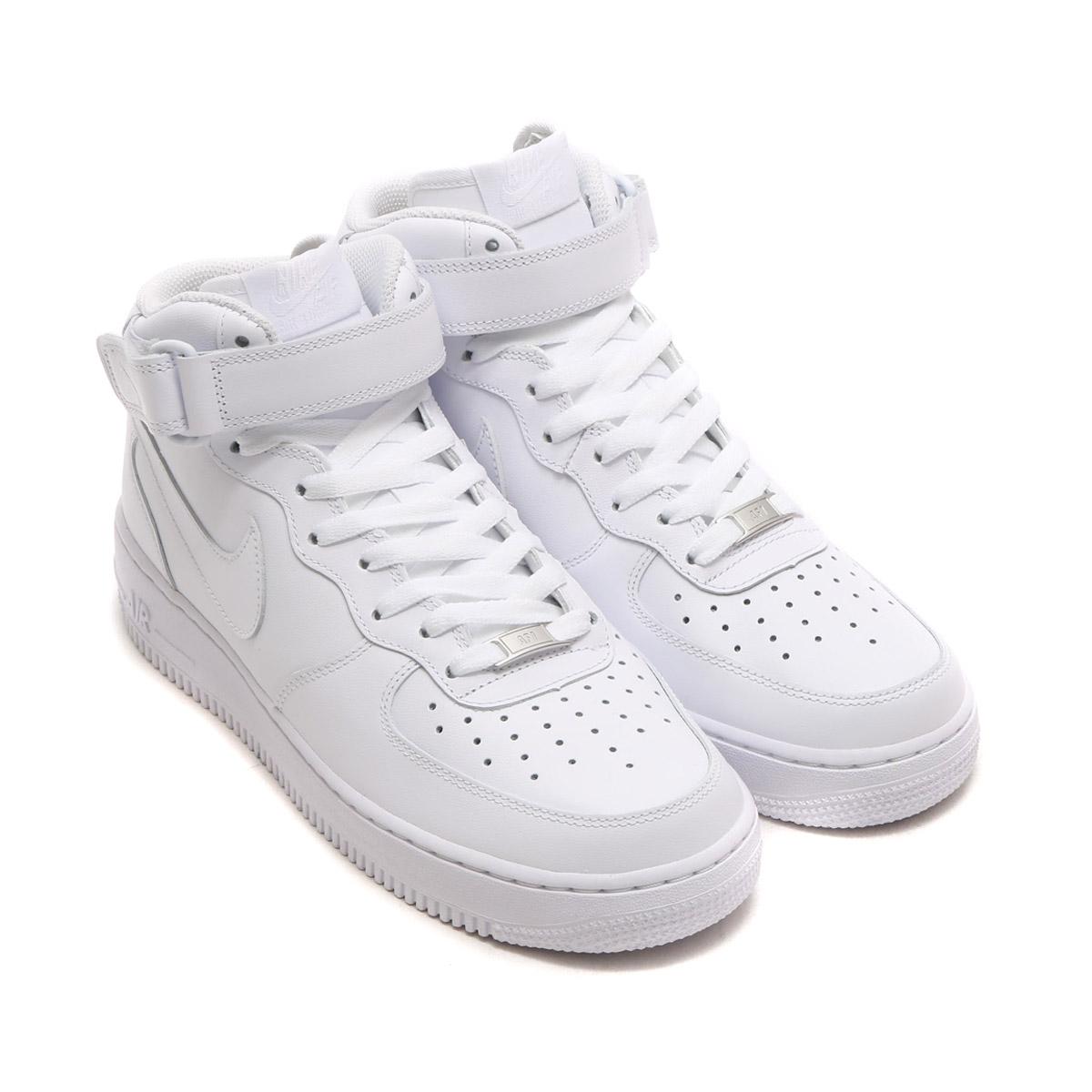 11e4b7f4eff5 NIKE AIR FORCE 1 MID  07 (Nike air force 1 mid  07) WHITE WHITE CRYOVR