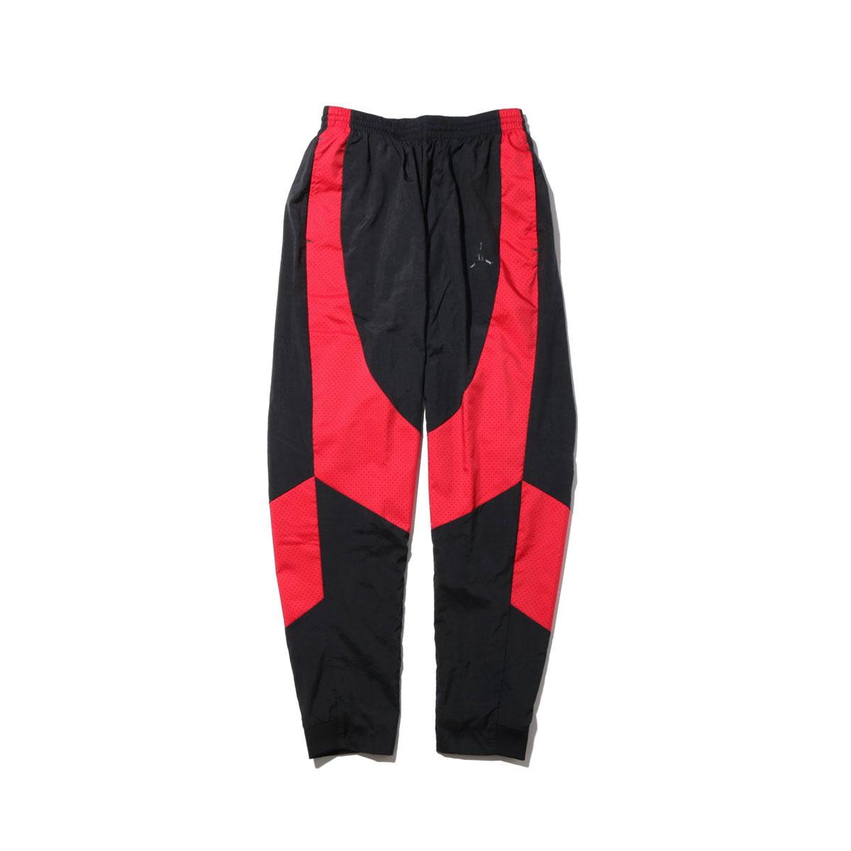 NIKE JSW WINGS MUSCLE PANT(ナイキ ジョーダン JSW WINGS マッスル パンツ)BLACK/GYM RED/(BLACK)【メンズ ナイロンパンツ】17HO-S
