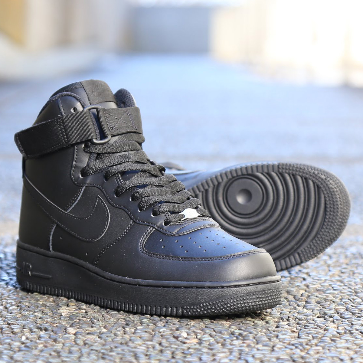 new products 479a9 b5fcb NIKE AIR FORCE 1 HIGH  07 (Nike air force 1 high 07) BLACK ...