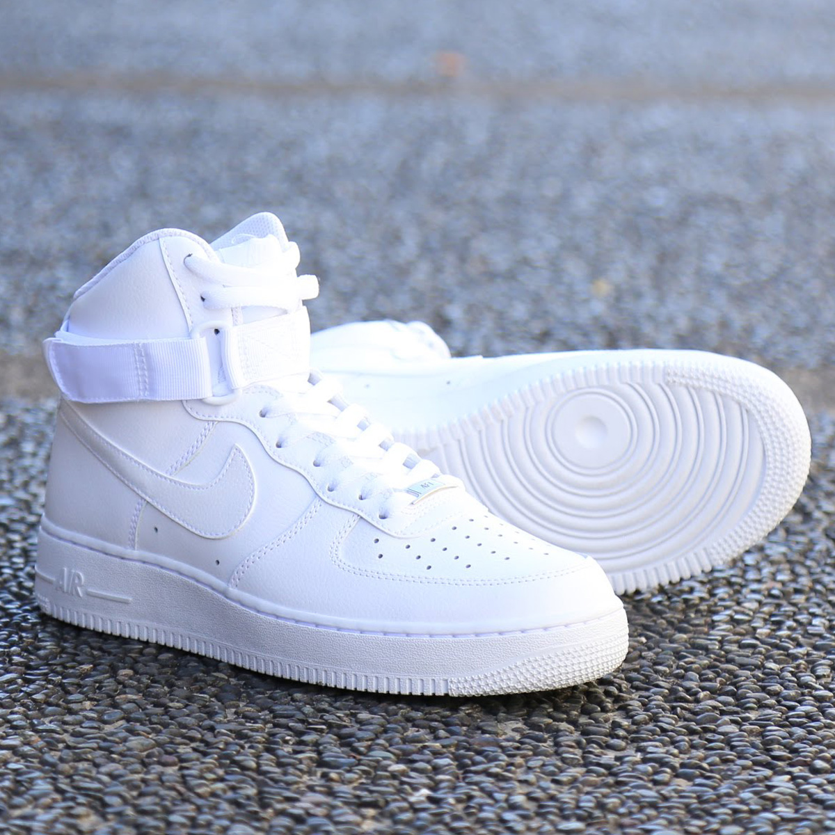 official photos e3483 cd34a NIKE AIR FORCE 1 HIGH  07 (Nike air force 1 high 07) WHITE ...