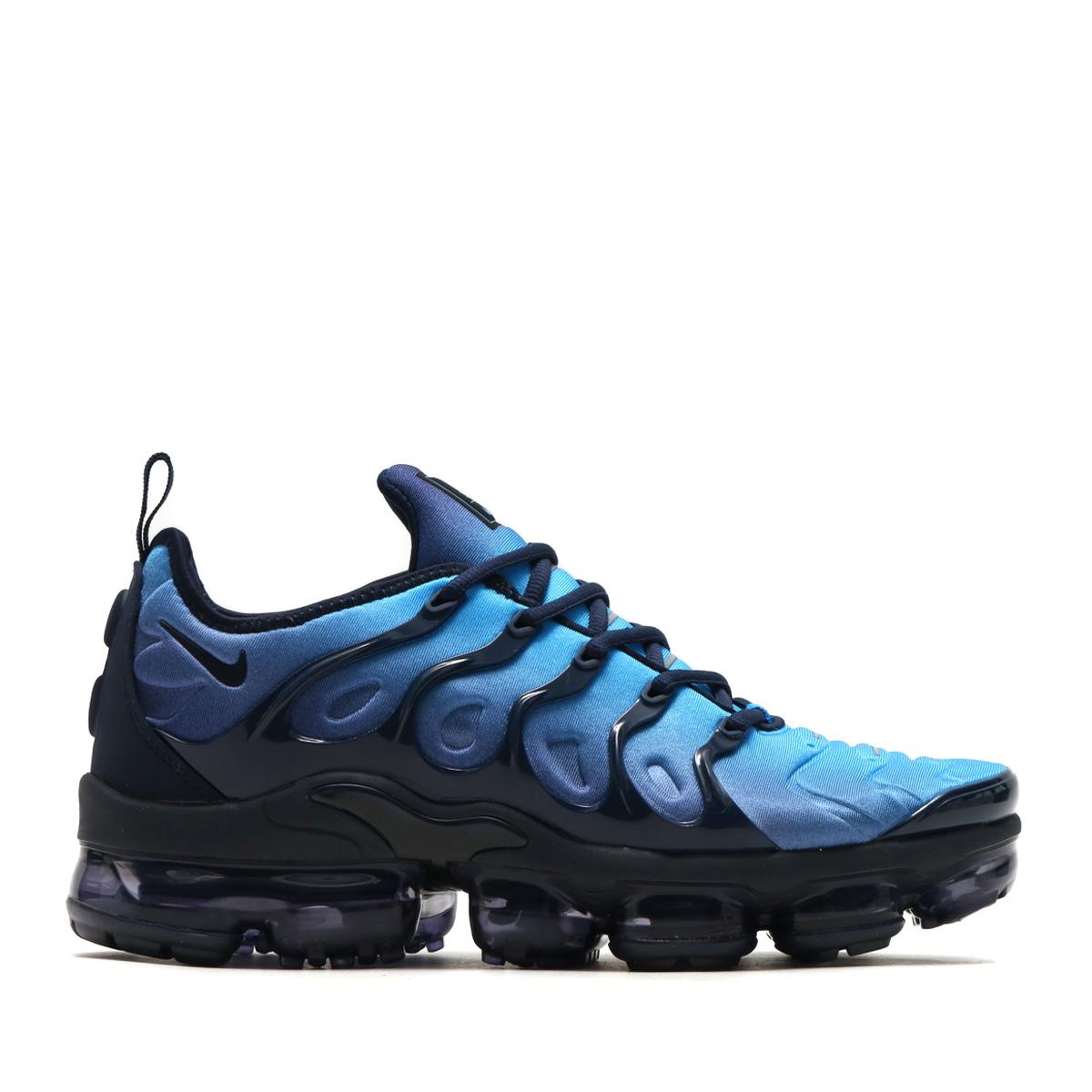 e8d1c458a3f NIKE AIR VAPORMAX PLUS (Nike air vapor max plus) OBSIDIAN OBSIDIAN-PHOTO  BLUE-BLACK 18SS-S