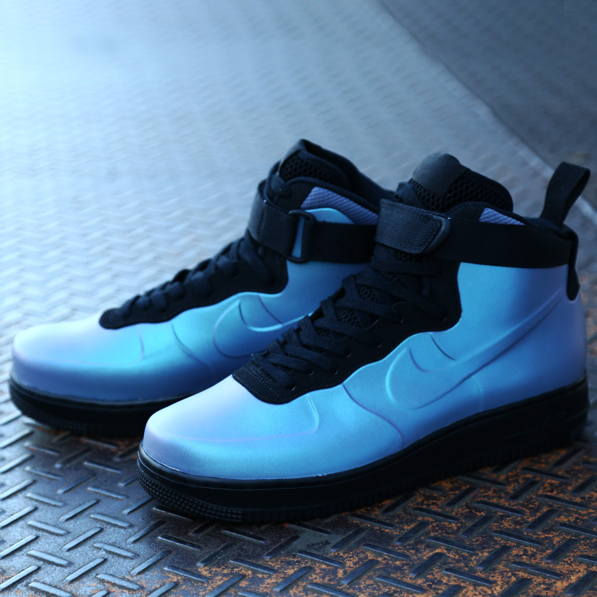 NIKE AIR FORCE 1 FOAMPOSITE CUP (ナイキ エア フォース 1 フォームポジット カップ)LIGHT CARBON/LIGHT CARBON-BLACK【メンズ スニーカー】18SP-S