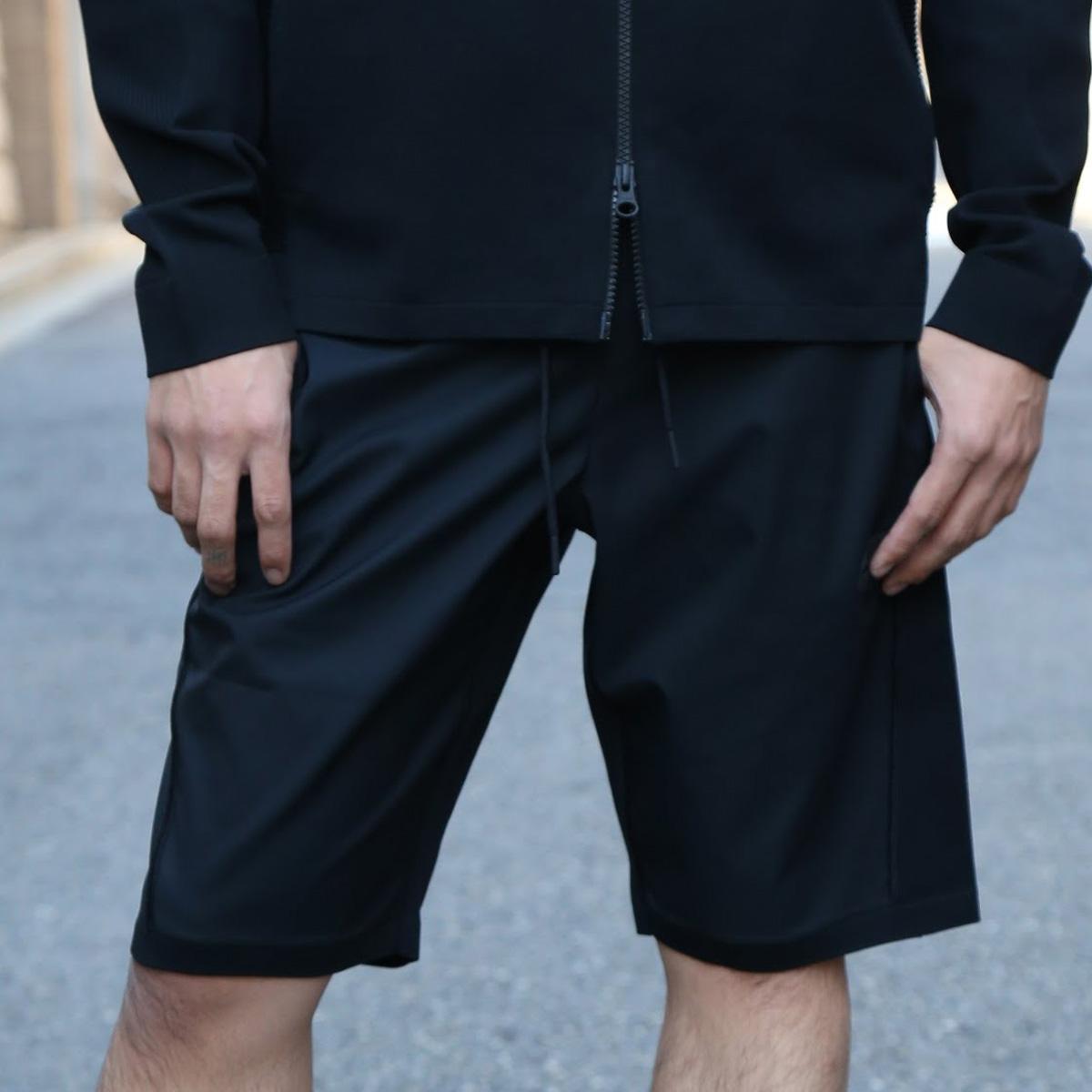 NIKE AS M NSW TCH KNT SHORT (ナイキ テック ニット ショート) BLACK/BLACK【メンズ ショーツ】18SU-S