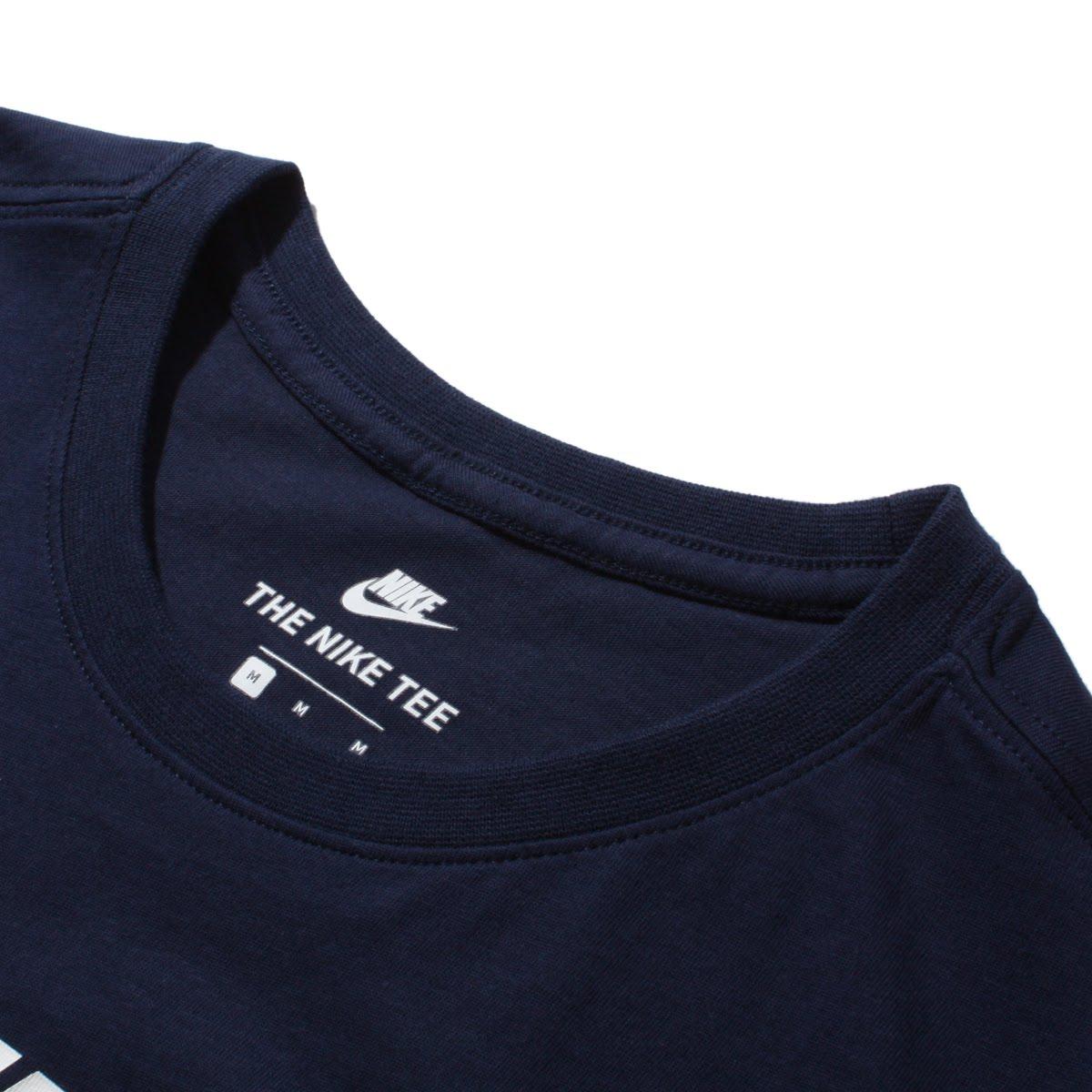 2f3e486e444 NIKEASMNSWTEEICONFUTURA(ナイキフューチュラアイコンTシャツ)OBSIDIAN WHITE メンズTシャツ
