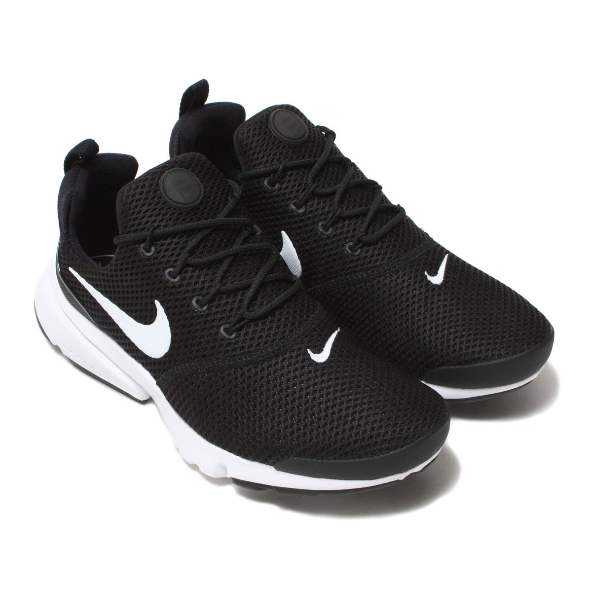 more photos 67859 c6bc1 NIKE WMNS PRESTO FLY (Nike women presto fly) BLACK/WHITE-WHITE-BLACK 18SP-I