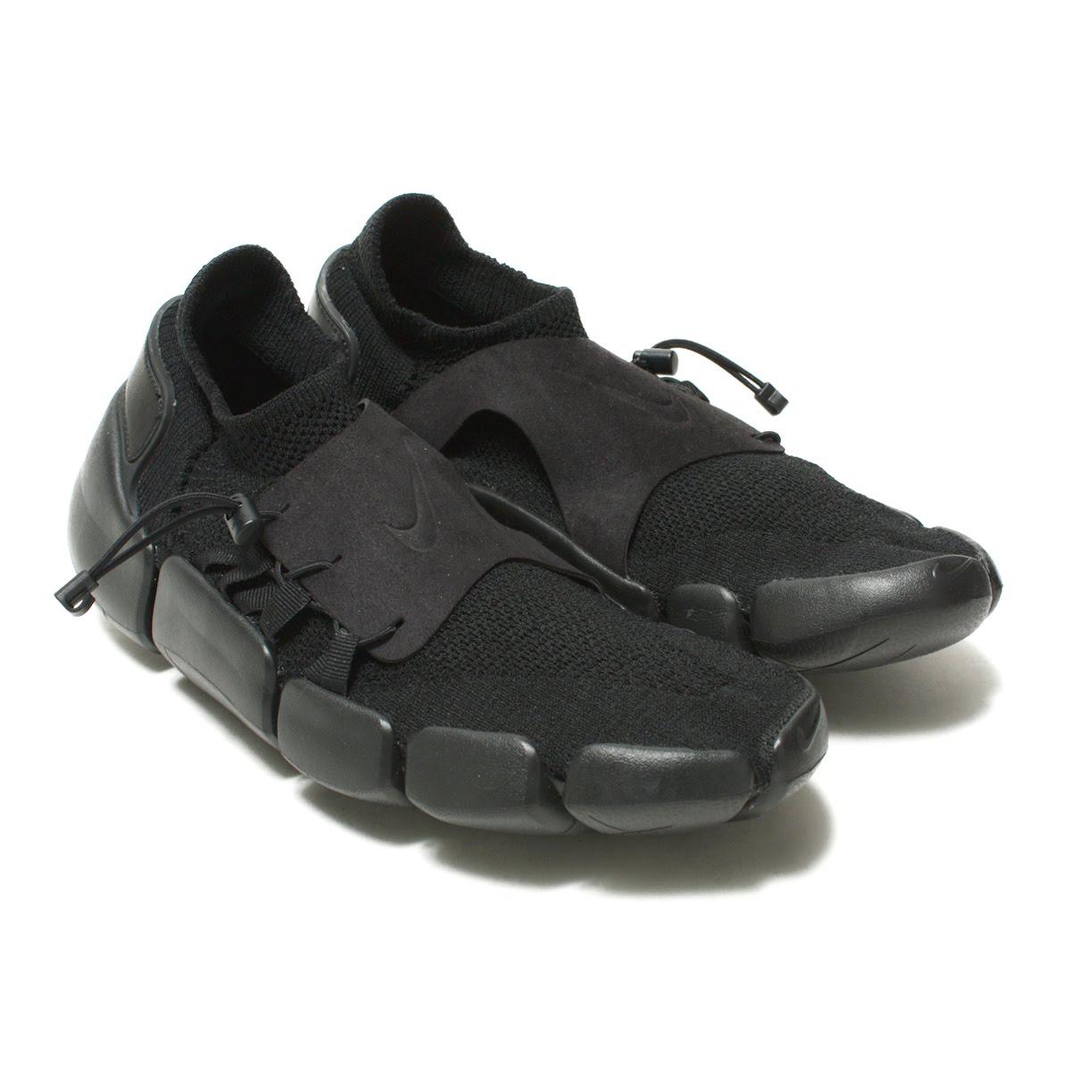 NIKE FOOTSCAPE FLYKNIT DM(ナイキ フットスケープ フライニット DM)BLACK/BLACK-BLACK【メンズ レディース スニーカー】18SP-I