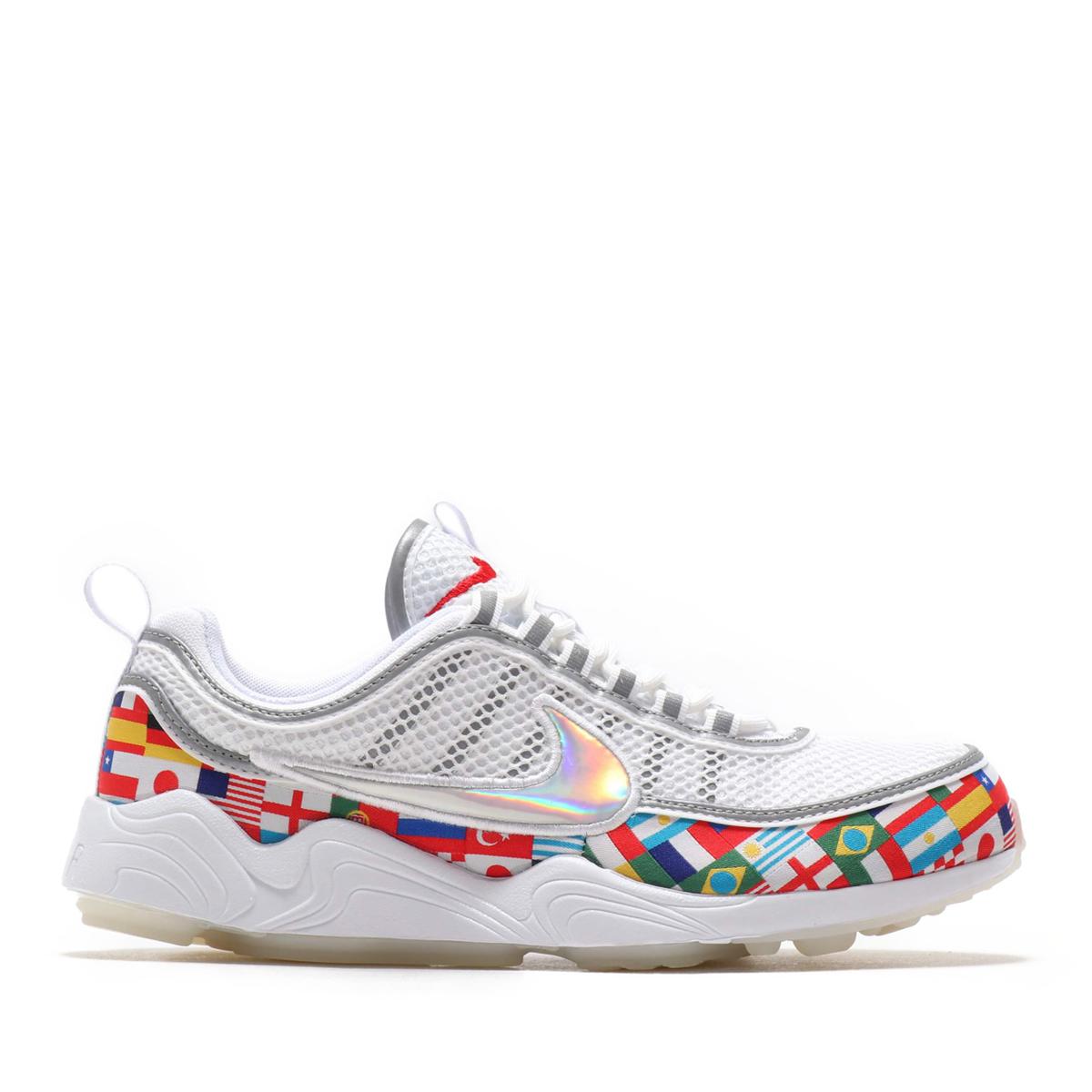Men NK White Multi International Flag AO5121 100 Nike Zoom