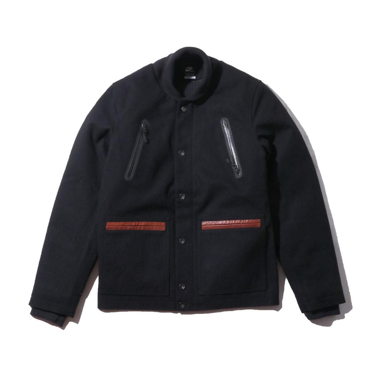 NIKE AS NSW WOOL JACKET(ナイキ AS NSW ウール ジャケット)BLACK【メンズ ジャケット】