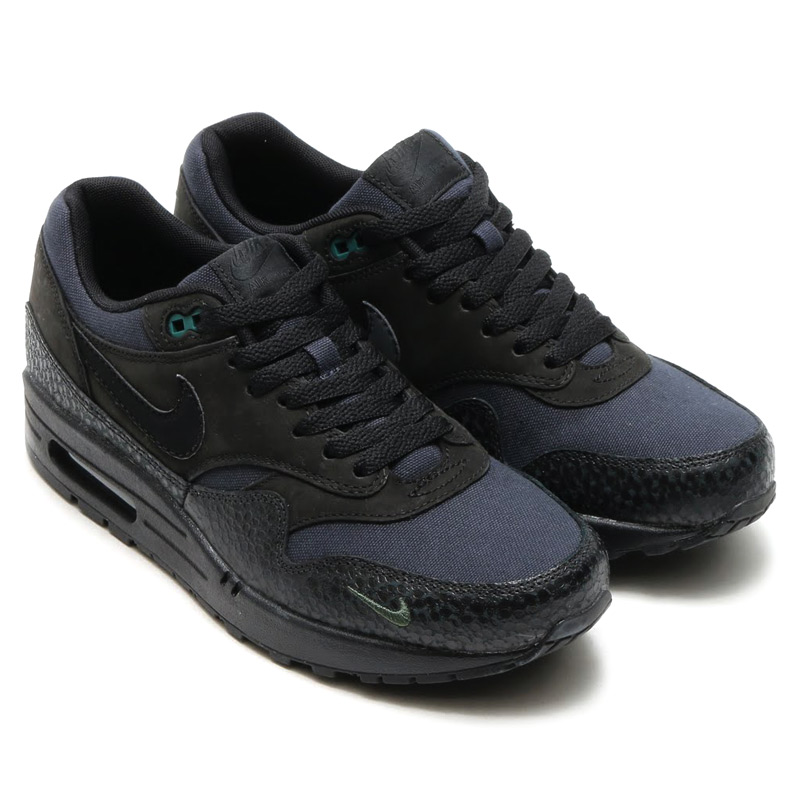 new product 2e156 a3c29 NIKE AIR MAX 1 PRM (Nike Air Max 1 Premium) BLACKBLACK-BONSAI 16SP-I  10P05Dec15