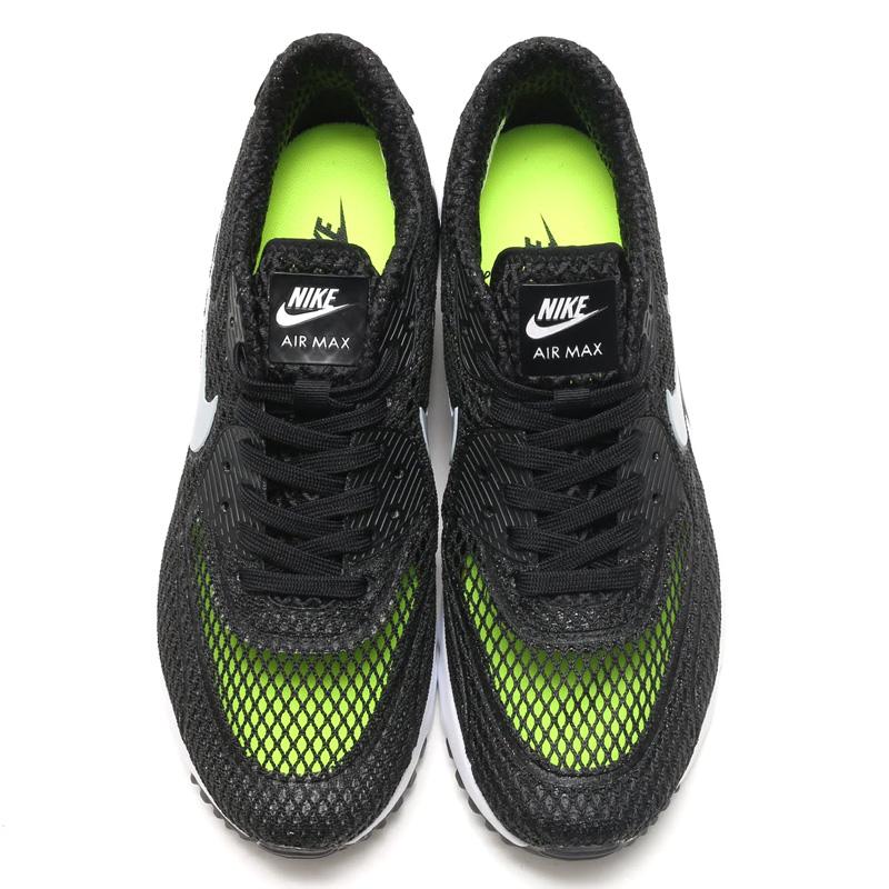 NIKE AIR MAX 90 ULTRA + QS (Nike Air Max 90 ultra + QS) BLACKWOLF GREY WHITE VOLT 15FA S