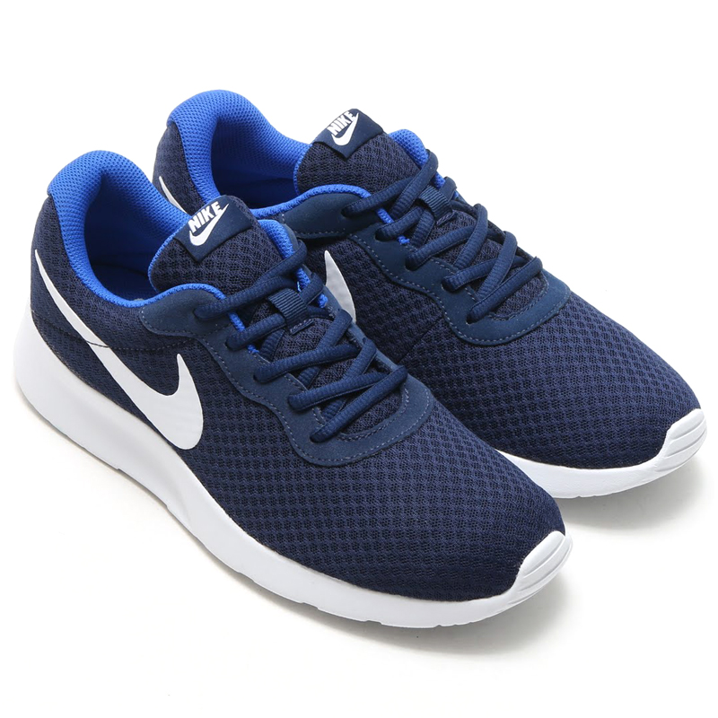 NIKE TANJUN (Tanjung Nike) MIDNIGHT NAVY/WHITE-GAME ROYAL 16SP-I