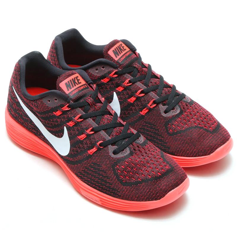 innovative design c0c7c cc8b0 NIKE LUNARTEMPO 2 (Nike luna tempo 2) UNIVERSITY RED WHITE-BLACK-BRIGHT  CRIMSON 16SP-I