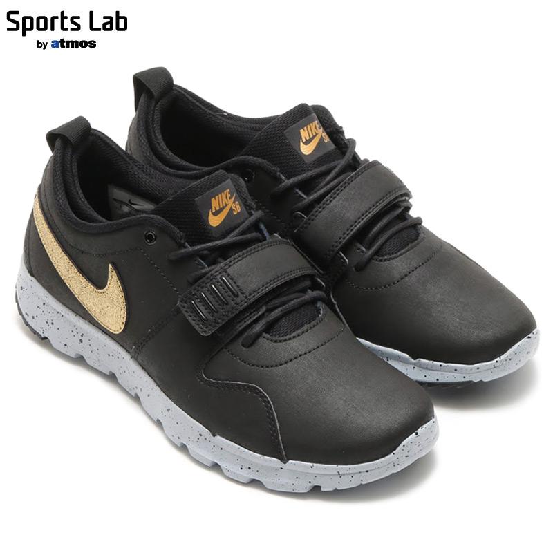 Nike Trainerendor L QS Black Metallic Gold Wolf Grey (823059-070)