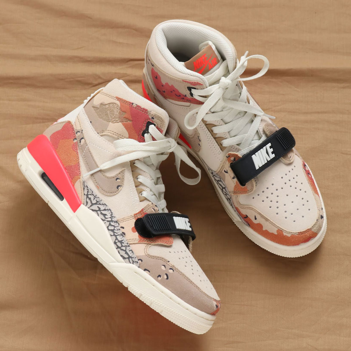 9632e655 Clothing, Shoes & Accessories Nike Air Jordan Legacy 312 Shoes  Sneakers-Sail/Desert Camo/Infra Red AV3922-126