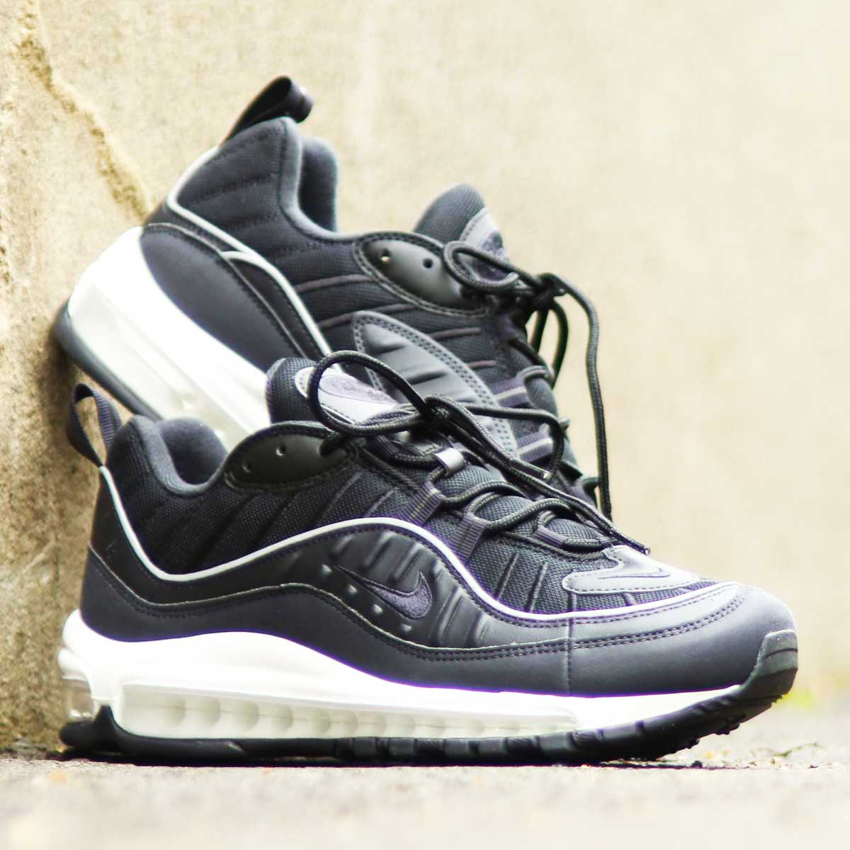 NIKE AIR MAX 98 (ナイキ エア マックス 98)OIL GREY/OIL GREY-BLACK-SUMMIT WHITE【メンズ スニーカー】19SP-I