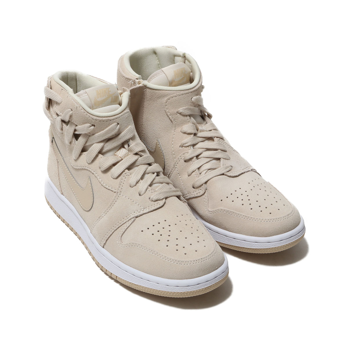 NIKE WMNS AIR JORDAN 1 REBEL XX(ナイキ ウィメンズ エア ジョーダン 1 REBEL XX)LIGHT CREAM/DESERT ORE-WHITE【レディース スニーカー】19SP-I