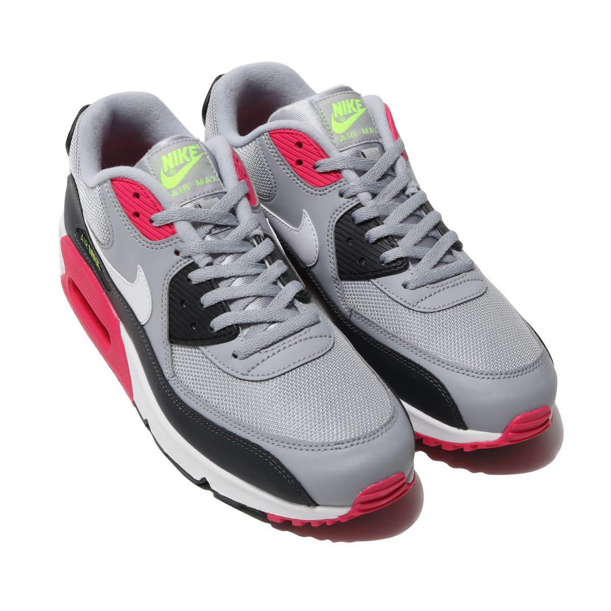 Nike EssentialWolf 90 Air Essentialkie 19su Max Greywhite Amax Pink Ney Volt I Rush USMqzpGV